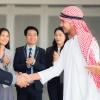 アラブ人と握手